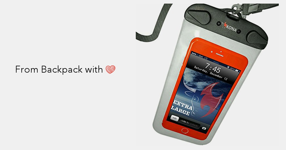 finest selection c13c0 0444f Kona Submariner Plus Size Universal Waterproof Phone Case, Cell ...