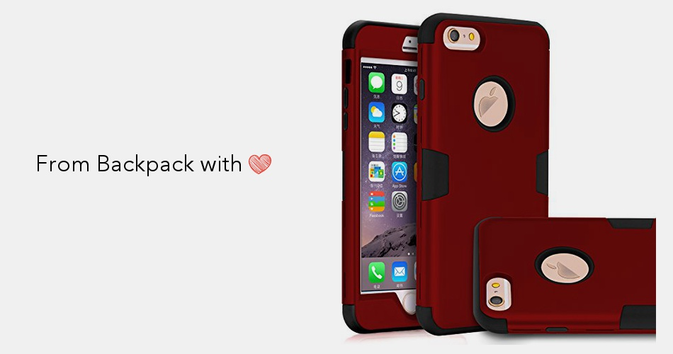 release date c3f49 363b3 TOPSKY Case for iPhone 6 Plus/6s Plus Case,Three Layer Heavy Duty High  Impact Resistant Hybrid Protective Case For iPhone 6 Plus and iPhone 6s ...