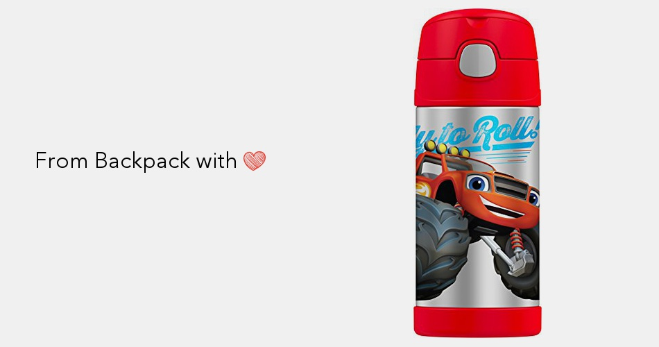 8a24ed288214 Thermos FUNtainer 12 Ounce Bottle, Blaze and The Monster Machines