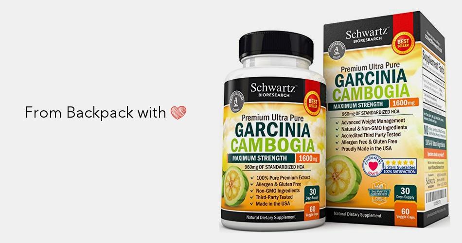 garcinia cambogia premium 1600 mg