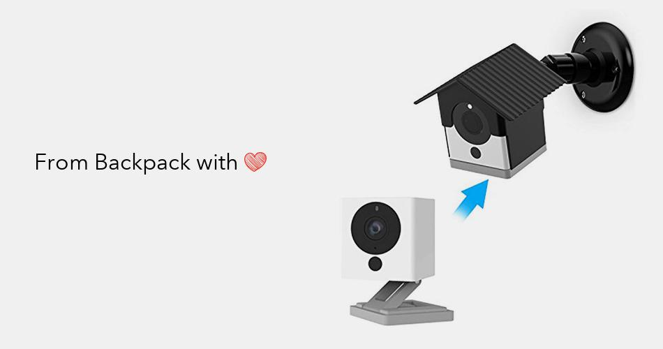 Security for with Protection Bracket Skin Wall UV Wyze 1080p Camera Cam Cover