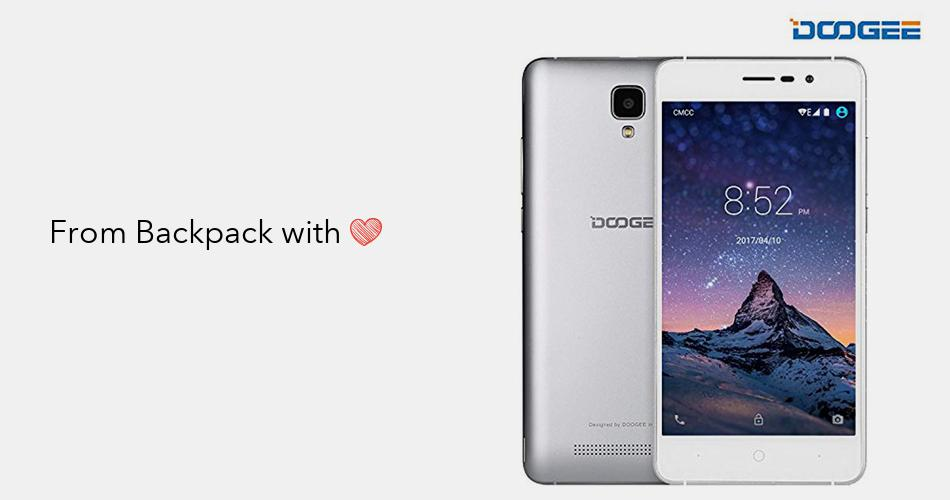 Unlocked Cell Phones, DOOGEE X10 Dual SIM 3G Unlocked Smartphones, Android  6 0-5 0 Inch IPS Display - 3360mAh Battery - 8GB ROM - 5MP Camera - Silver